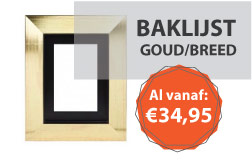 Baklijst Goud Breed